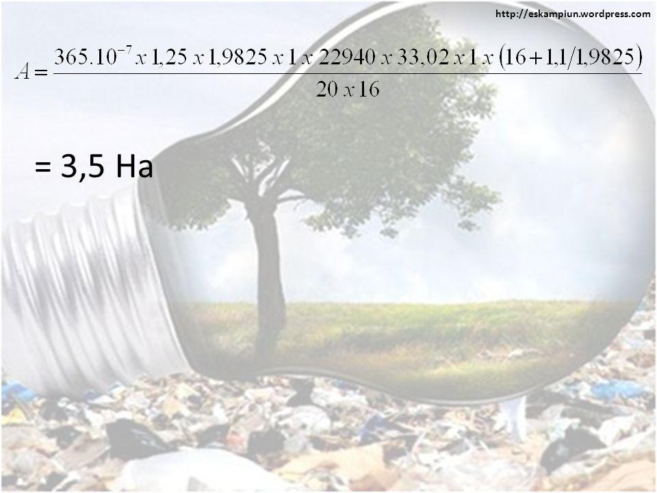 = 3,5 Ha