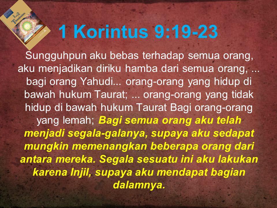 1 Korintus 9:19-23