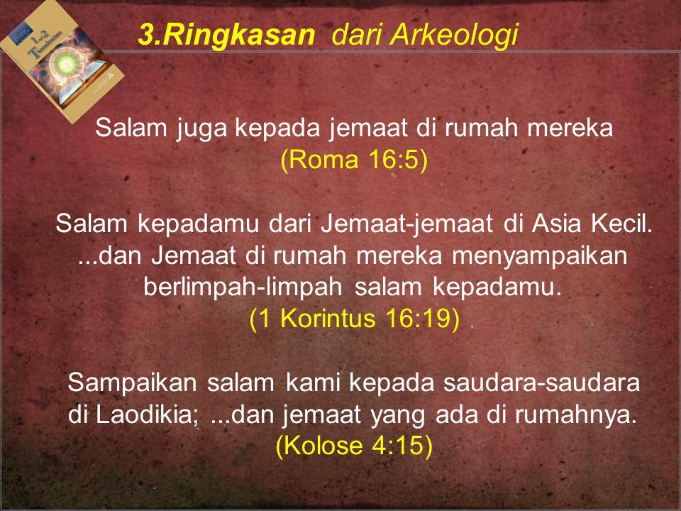 3.Ringkasan dari Arkeologi