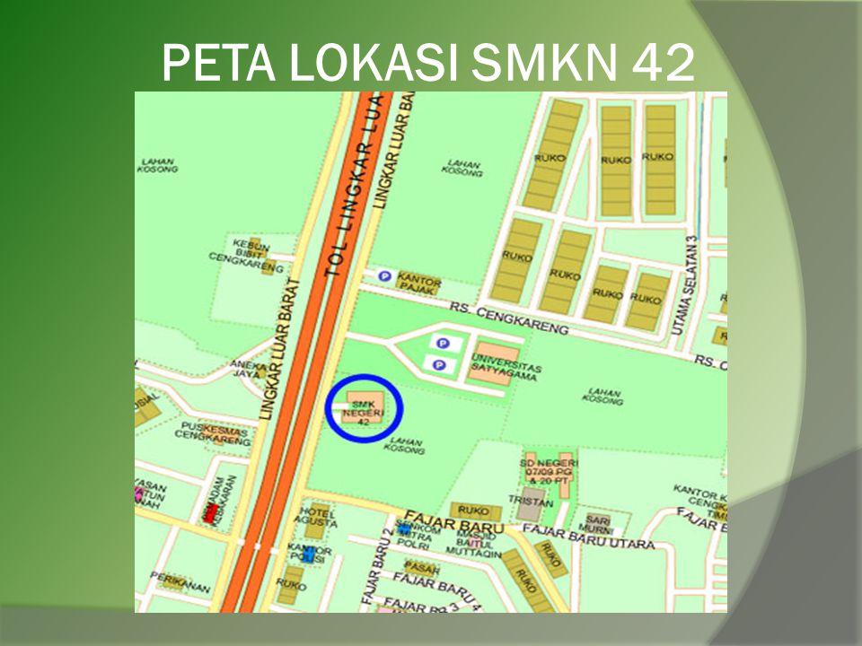 PETA LOKASI SMKN 42