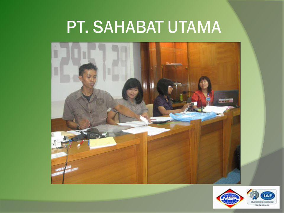 PT. SAHABAT UTAMA