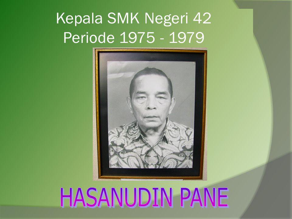 Kepala SMK Negeri 42 Periode 1975 - 1979