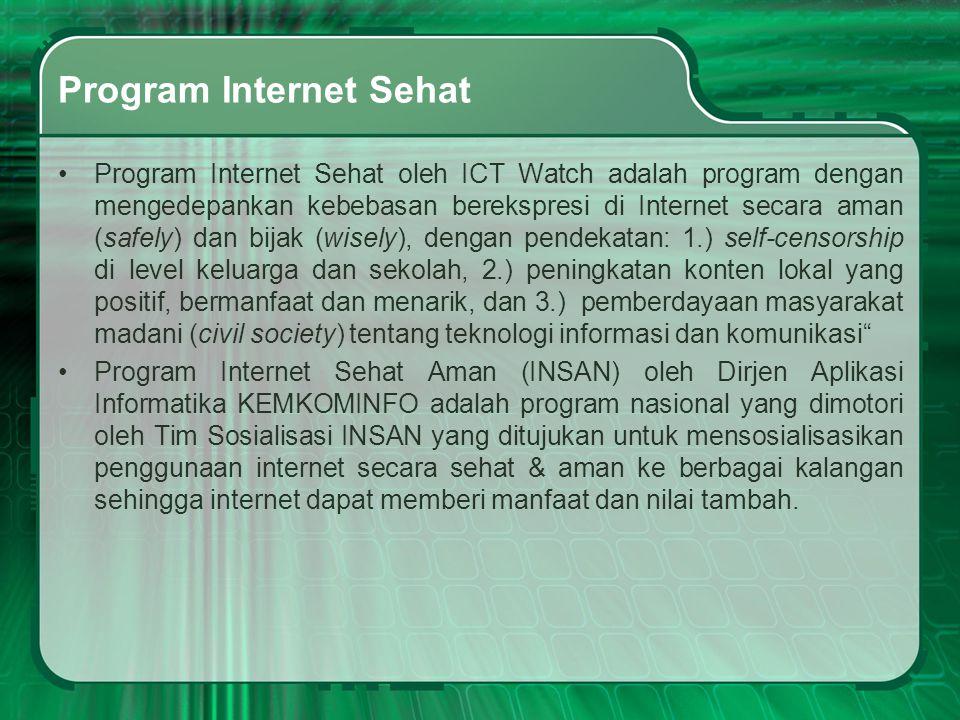 Program Internet Sehat