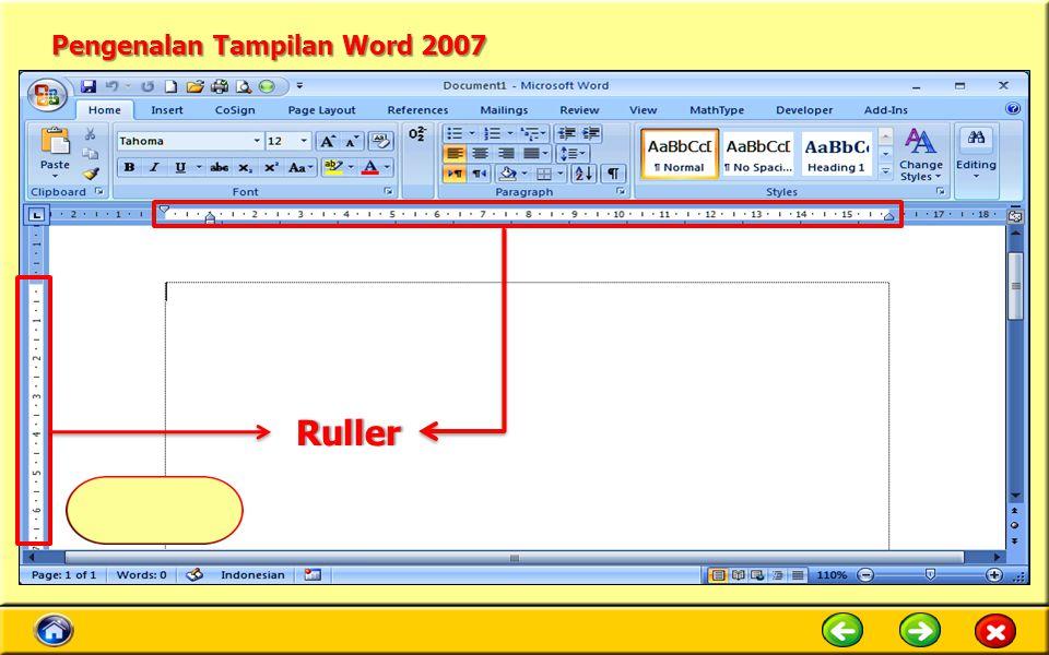 Pengenalan Tampilan Word 2007