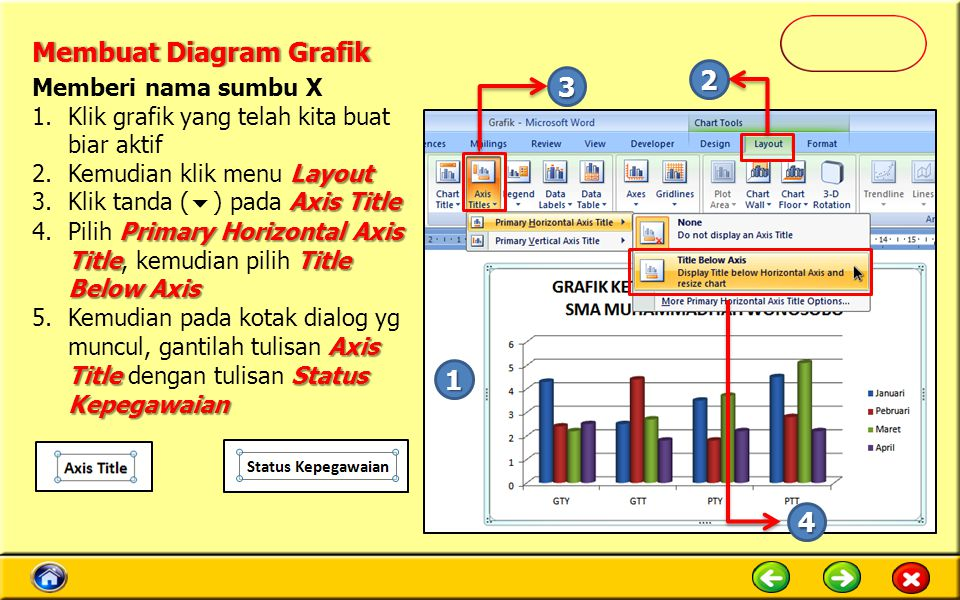 Membuat Diagram Grafik