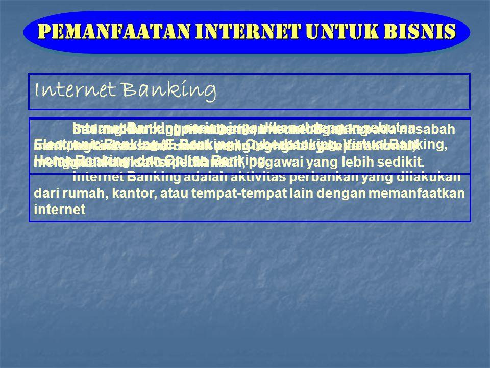 Pemanfaatan Internet untuk Bisnis