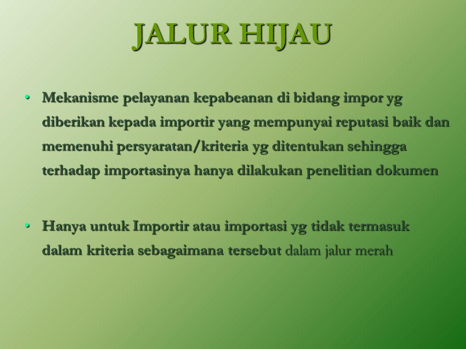 JALUR HIJAU