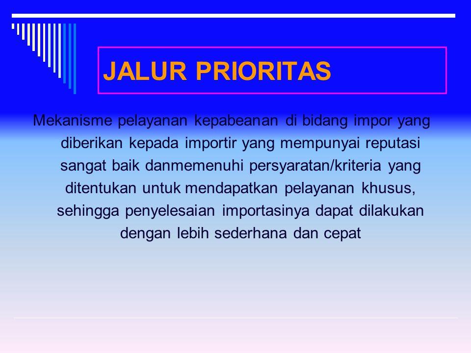 JALUR PRIORITAS