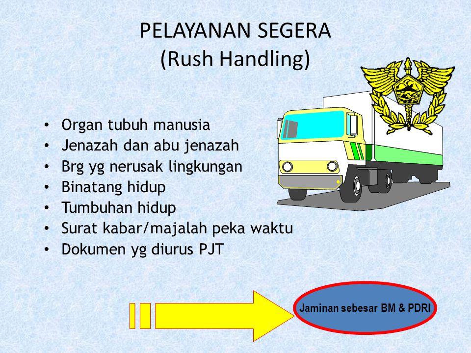 PELAYANAN SEGERA (Rush Handling)
