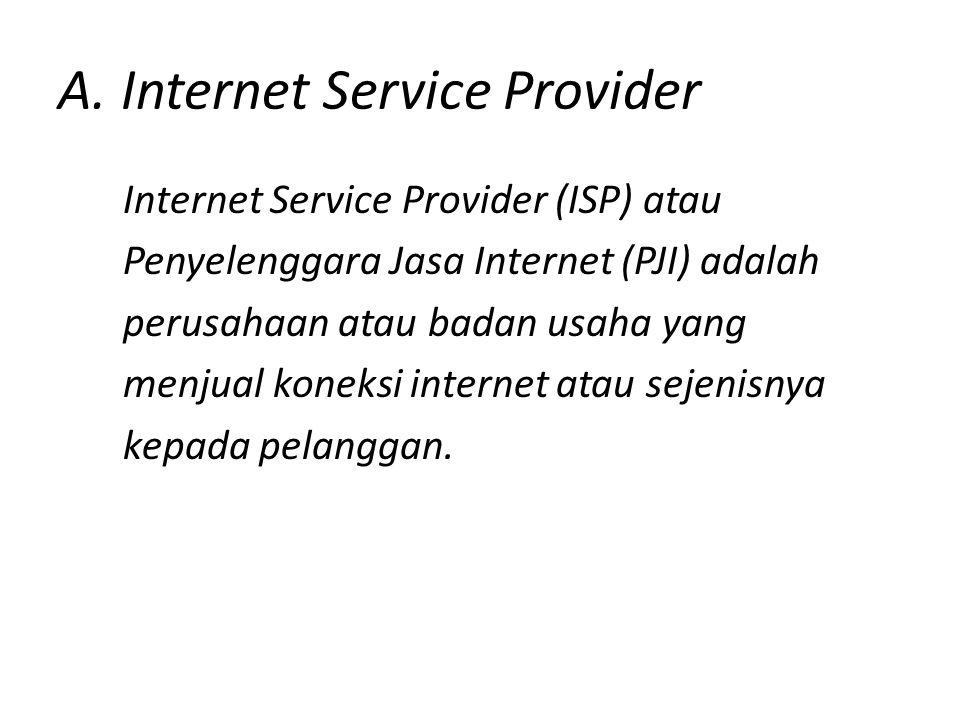 A. Internet Service Provider