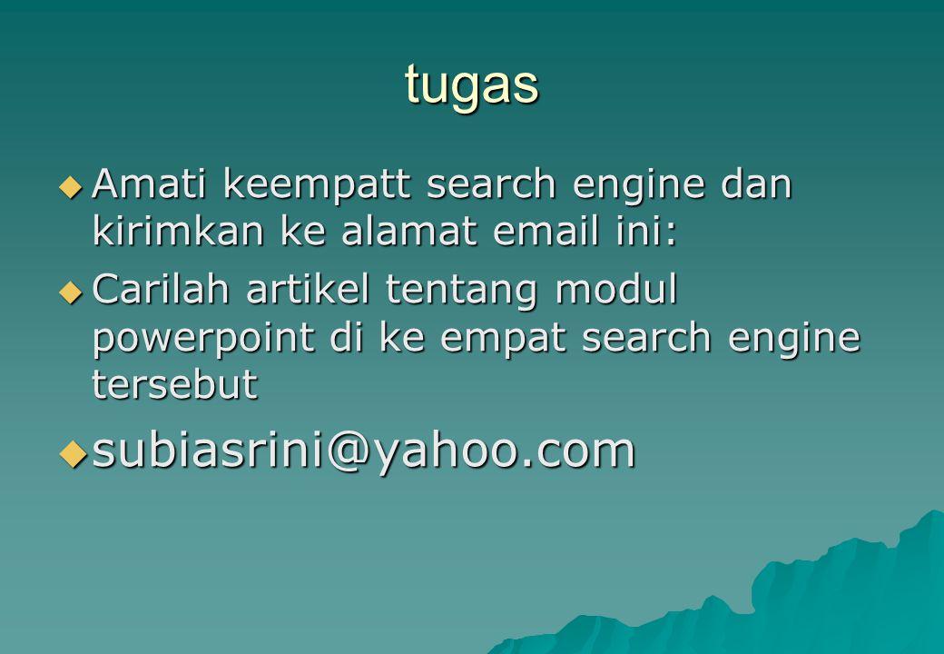 tugas subiasrini@yahoo.com