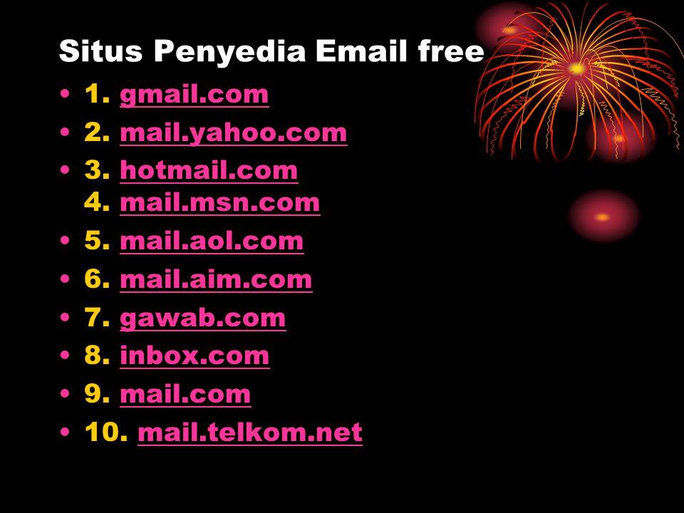 Situs Penyedia Email free