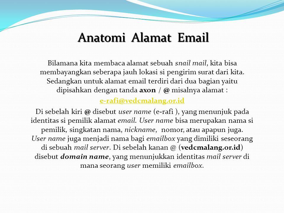 Anatomi Alamat Email