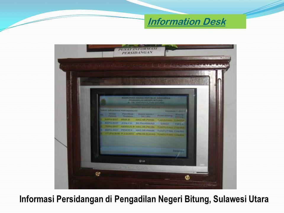 Informasi Persidangan di Pengadilan Negeri Bitung, Sulawesi Utara
