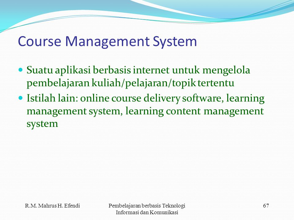 Course Management System