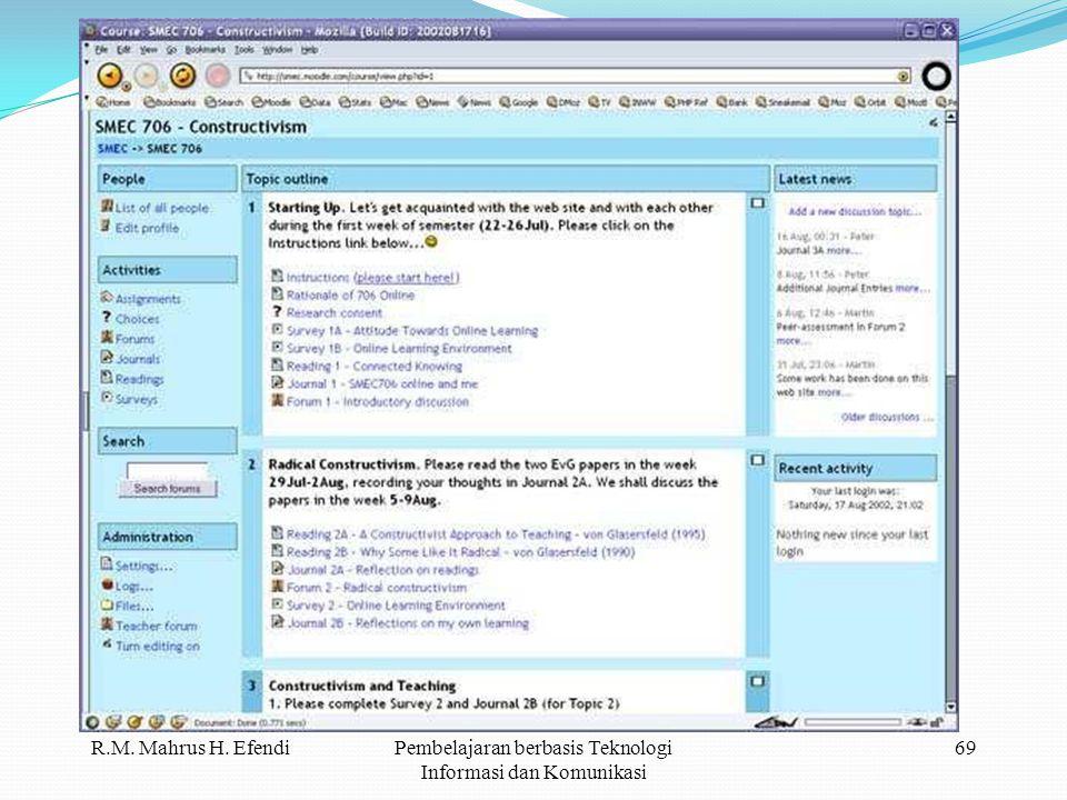 Pembelajaran berbasis Teknologi Informasi dan Komunikasi