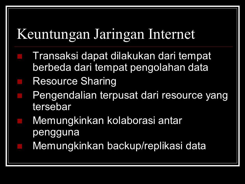 Keuntungan Jaringan Internet