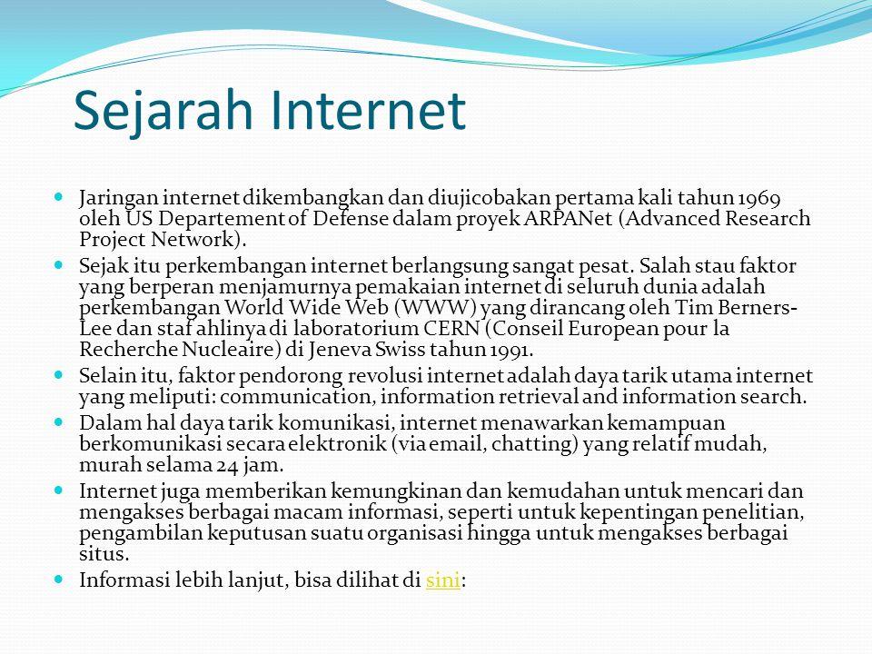 Sejarah Internet