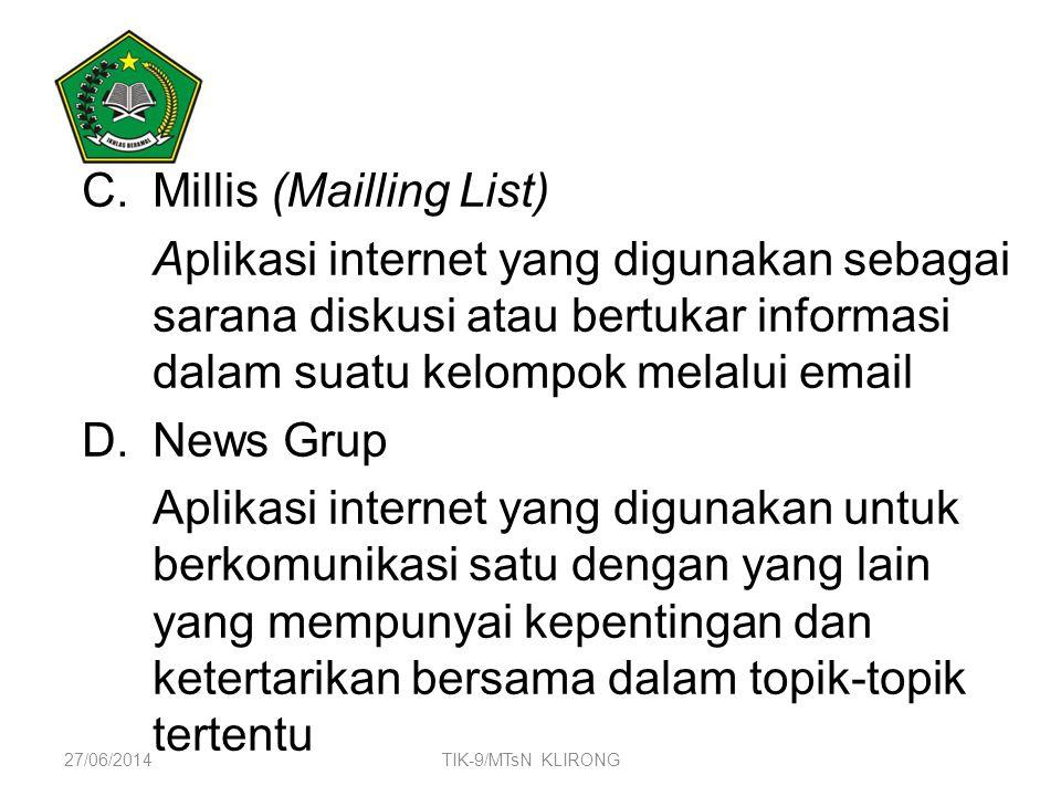 Millis (Mailling List)