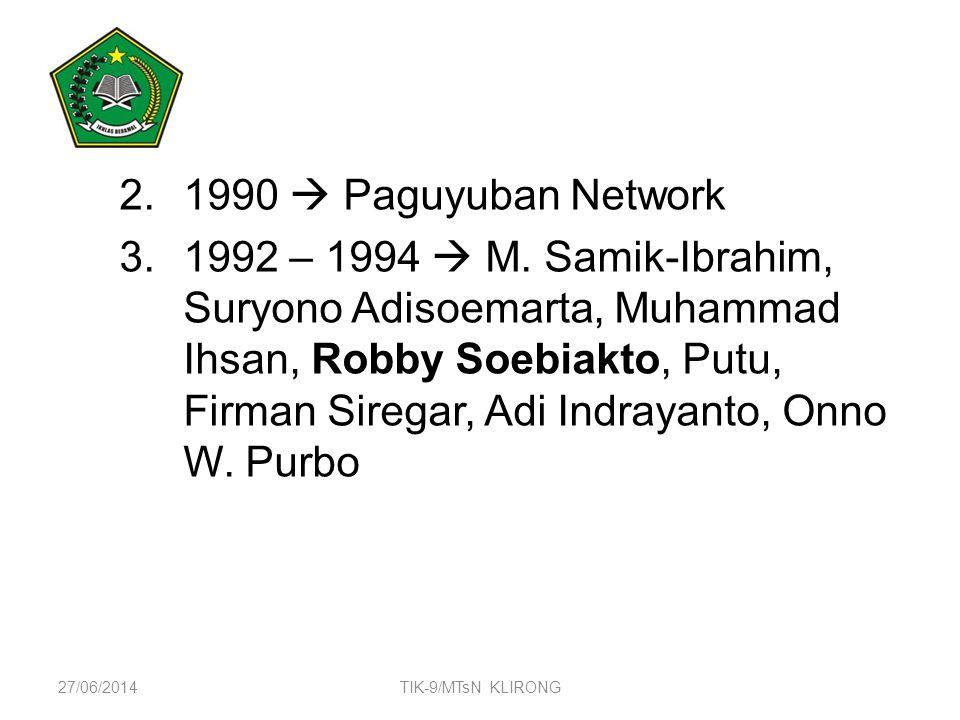 4/3/2017 1990  Paguyuban Network.