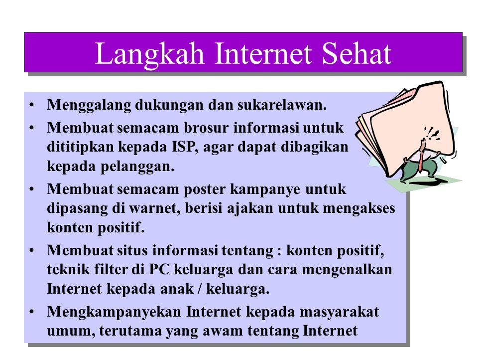 Langkah Internet Sehat