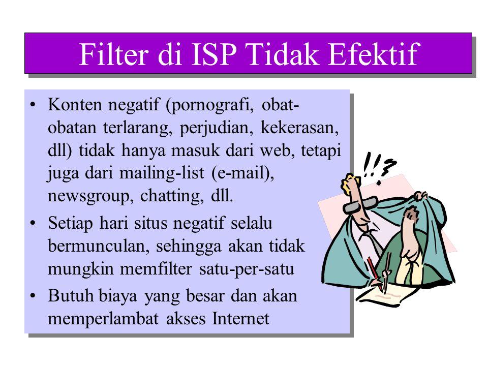 Filter di ISP Tidak Efektif