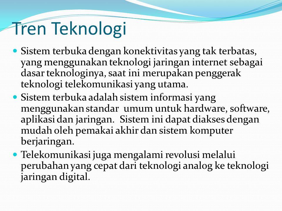 Tren Teknologi