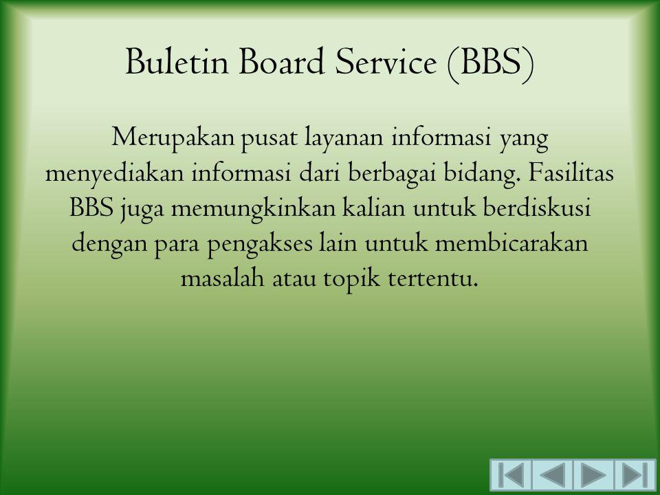 Buletin Board Service (BBS)