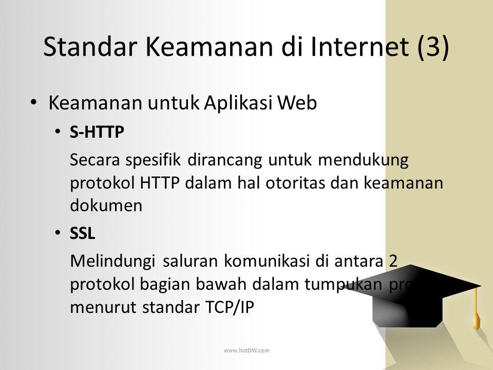 Standar Keamanan di Internet (3)