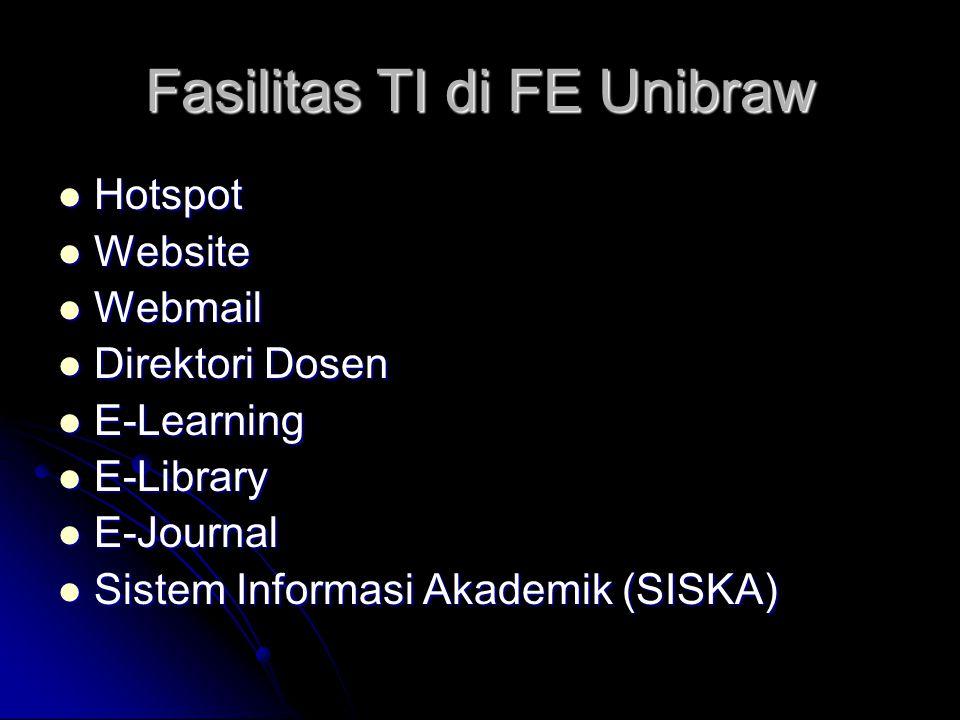Fasilitas TI di FE Unibraw