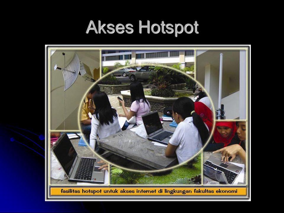 Akses Hotspot