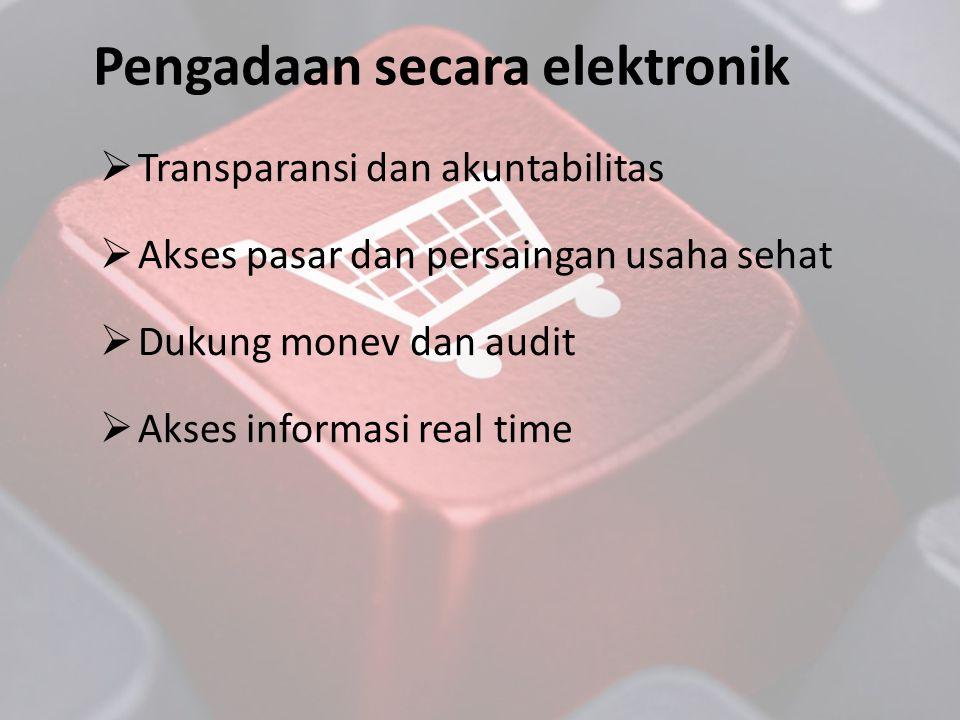 Pengadaan secara elektronik