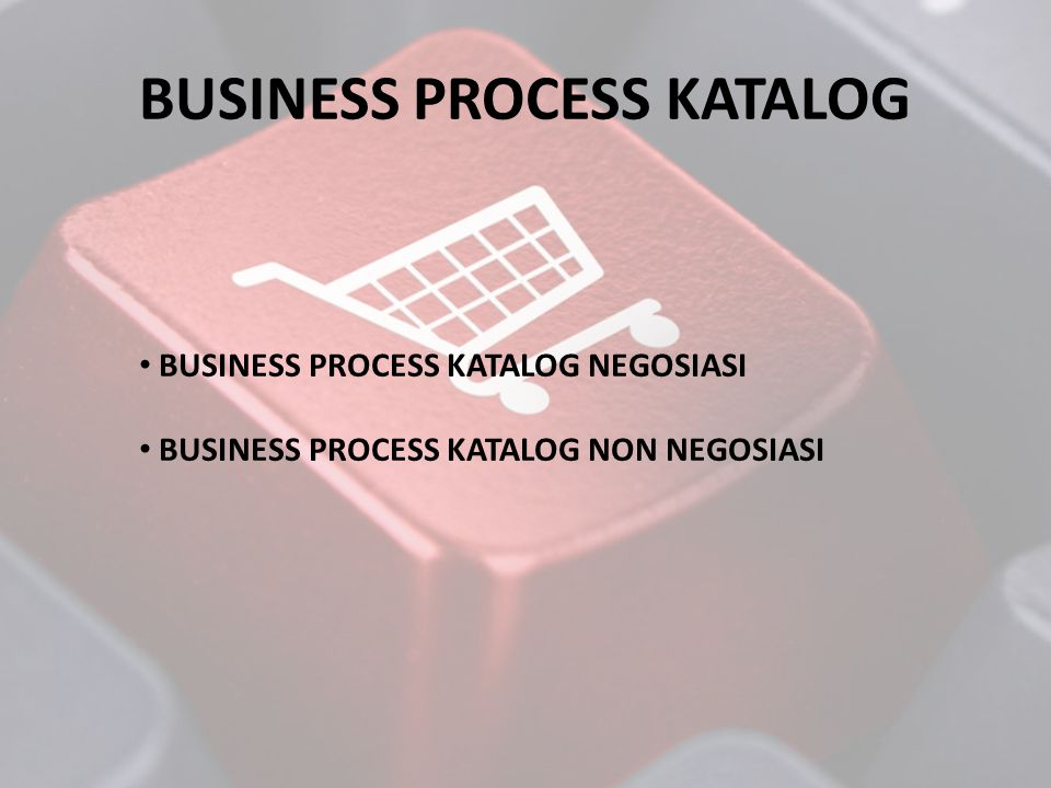 BUSINESS PROCESS KATALOG