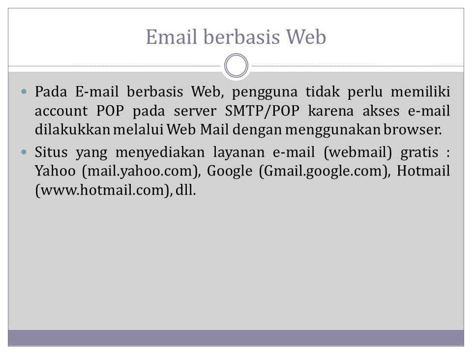 Email berbasis Web