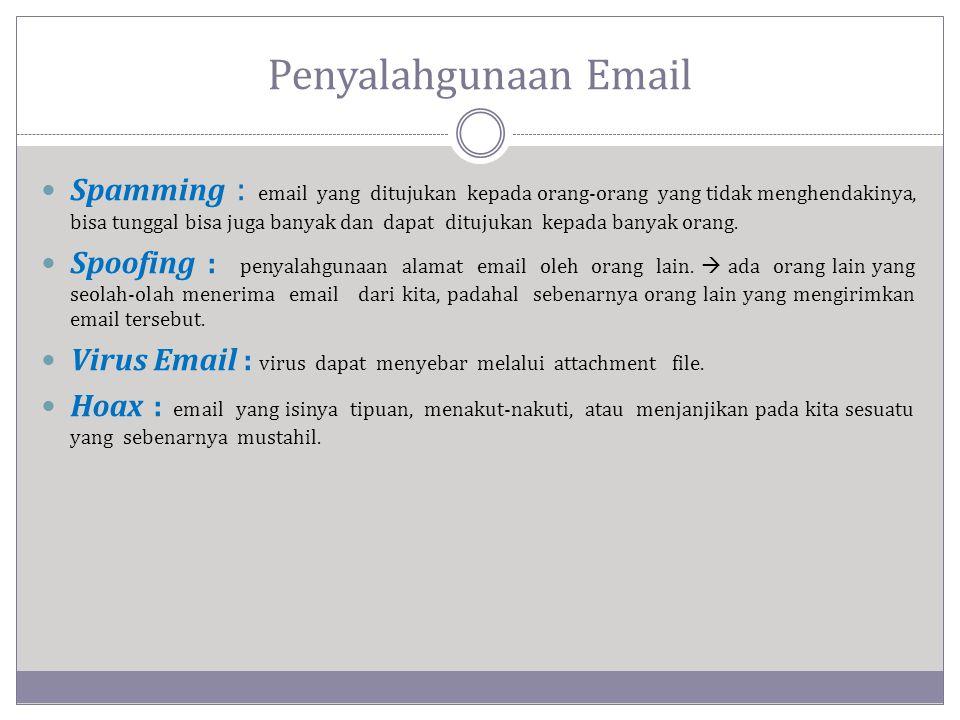 Penyalahgunaan Email
