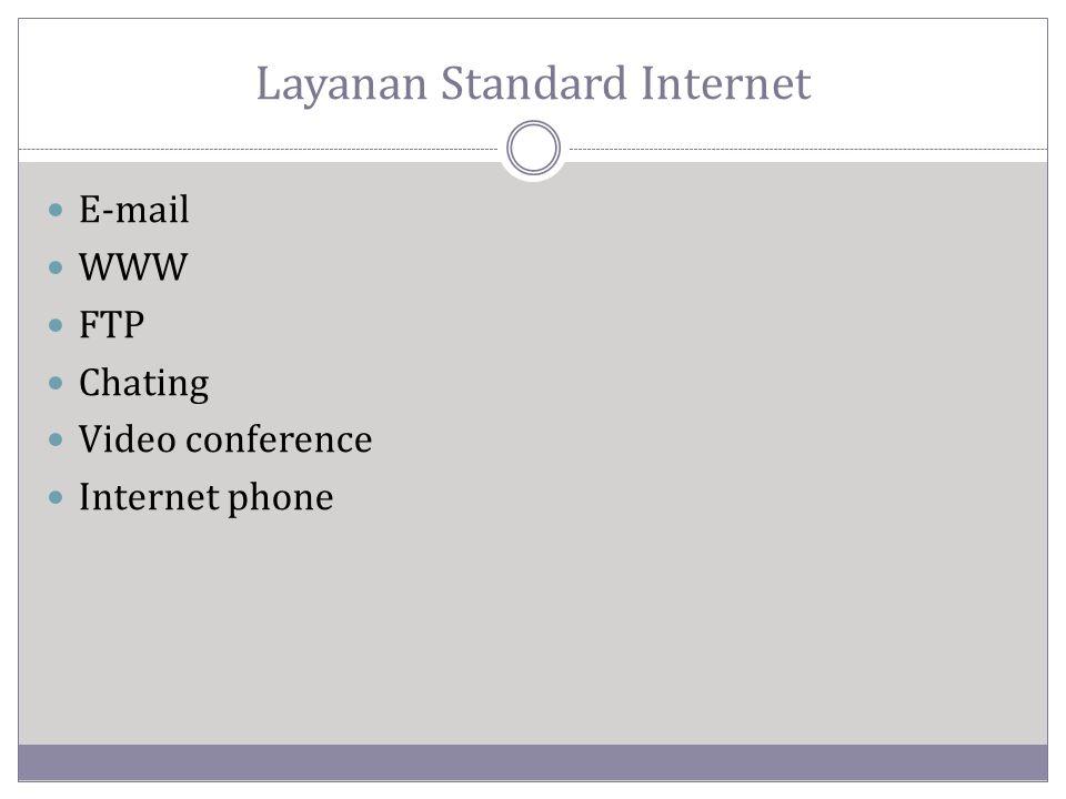 Layanan Standard Internet