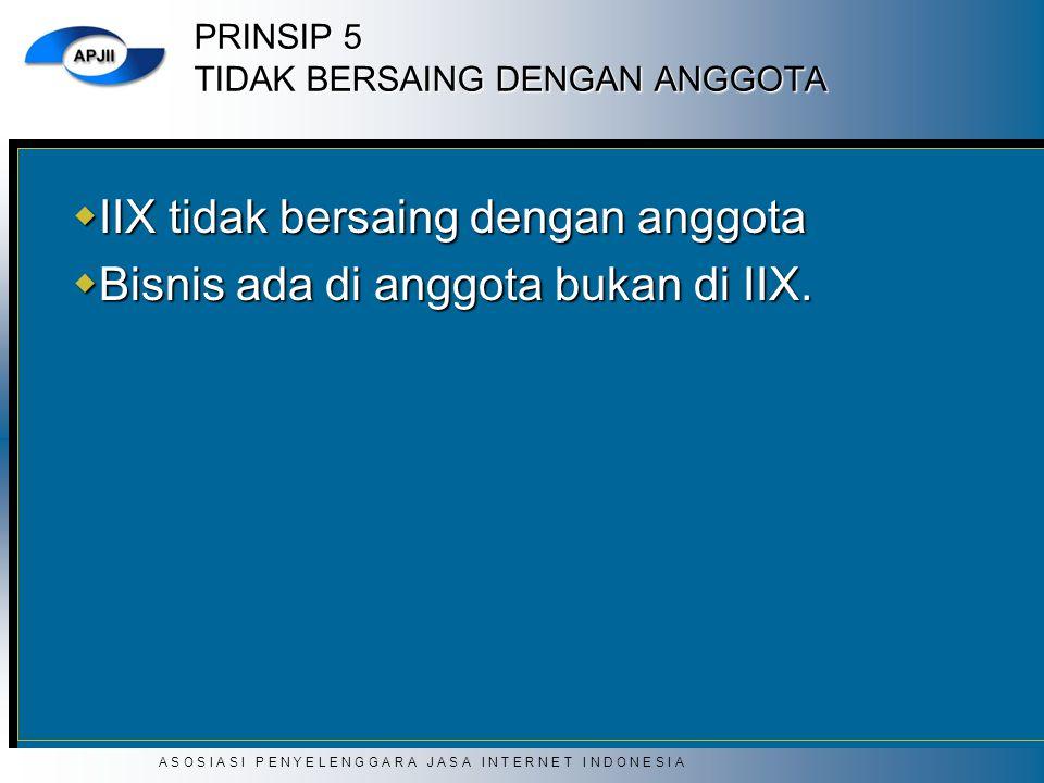 PRINSIP 5 TIDAK BERSAING DENGAN ANGGOTA