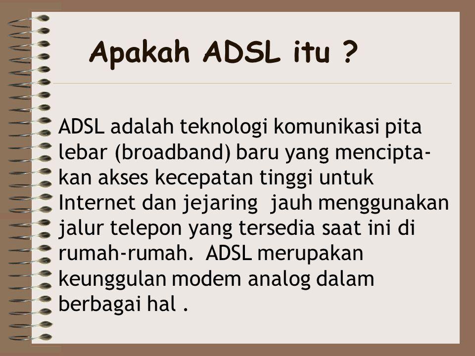 Apakah ADSL itu
