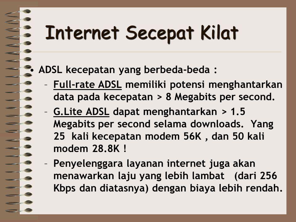 Internet Secepat Kilat