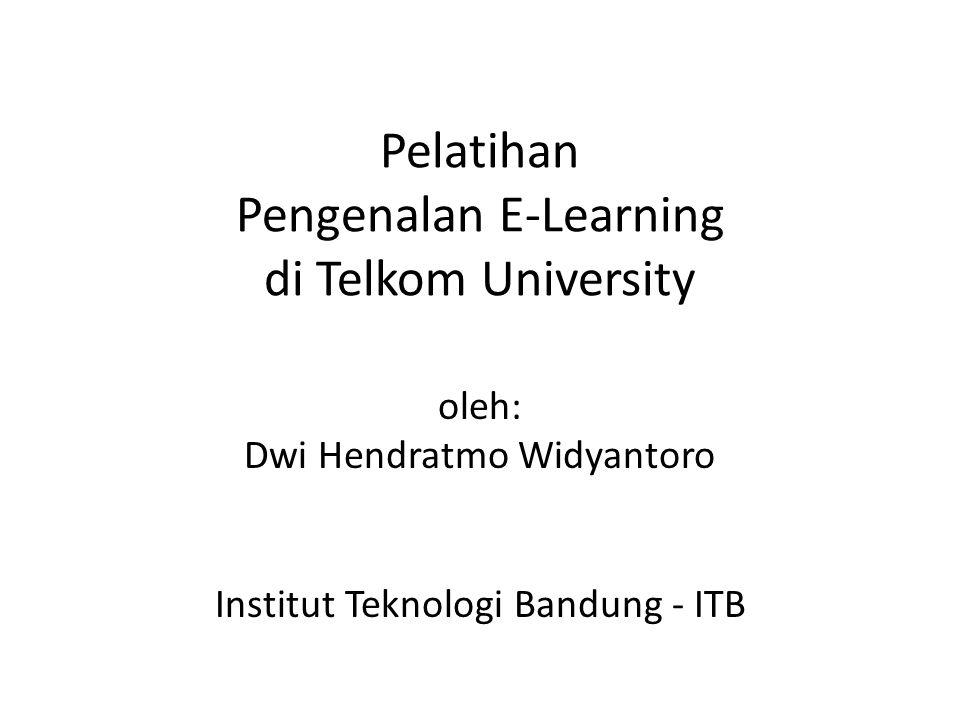 Pelatihan Pengenalan E-Learning di Telkom University