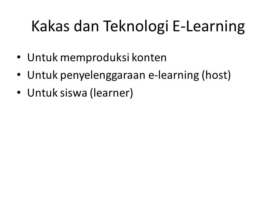 Kakas dan Teknologi E-Learning