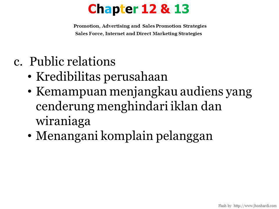 Kredibilitas perusahaan