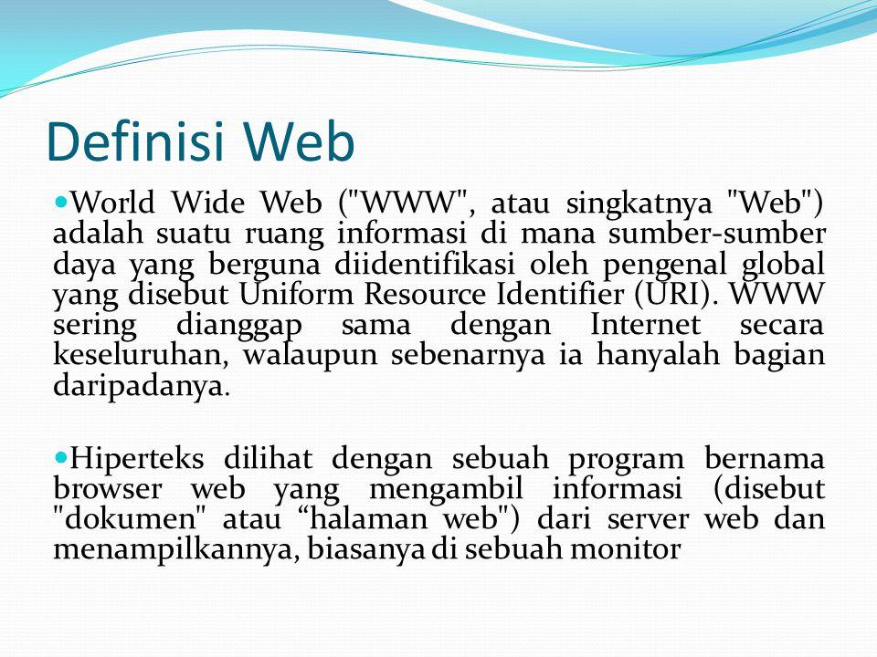 Definisi Web