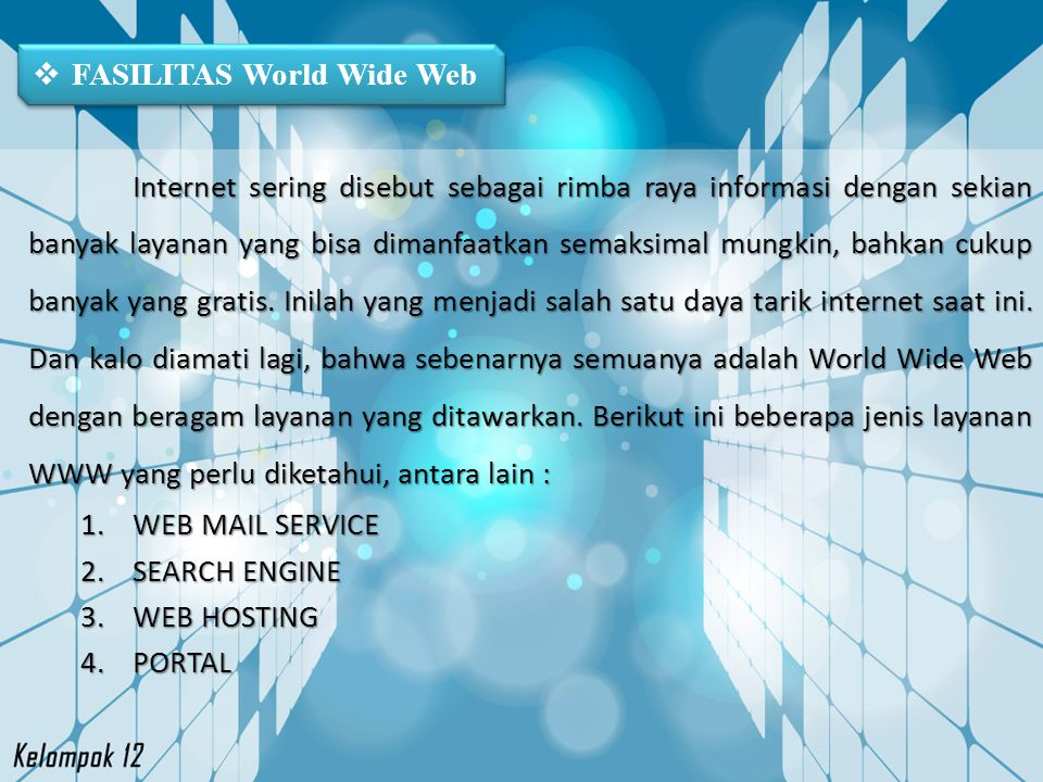 FASILITAS World Wide Web