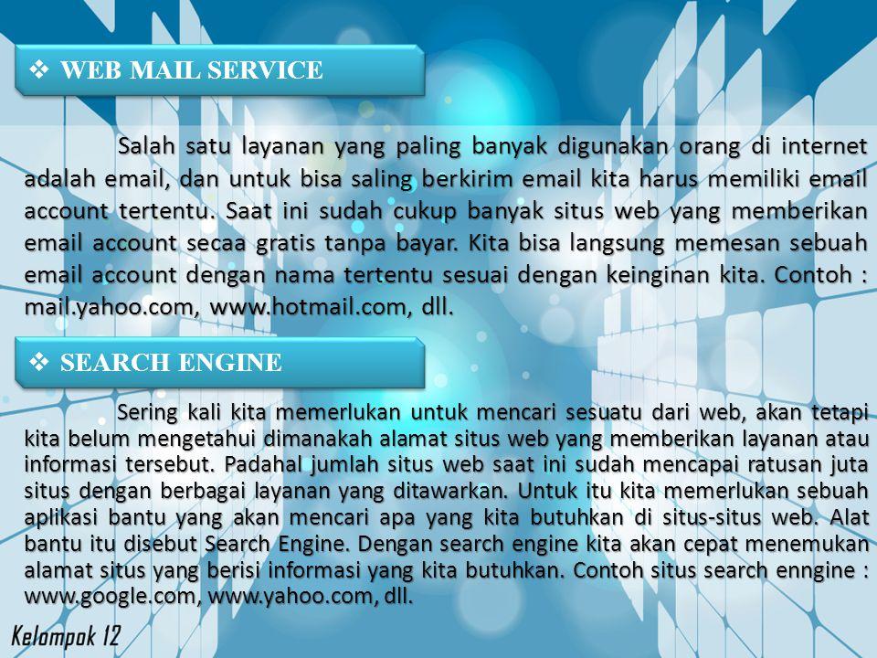 WEB MAIL SERVICE