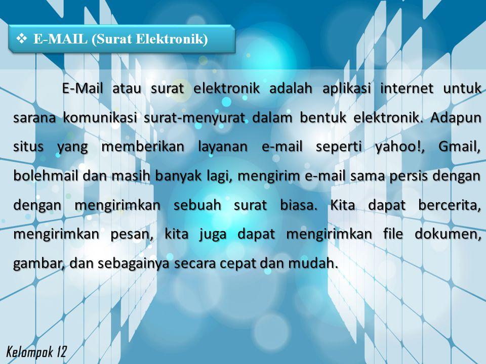E-MAIL (Surat Elektronik)