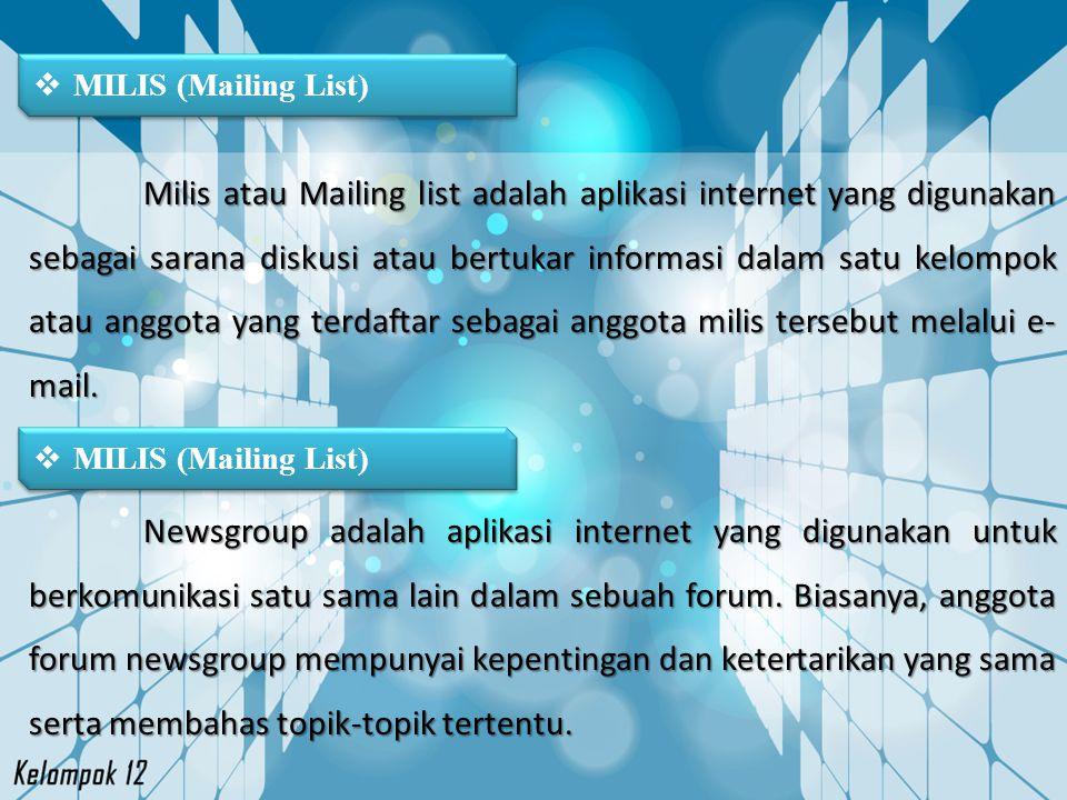 MILIS (Mailing List)