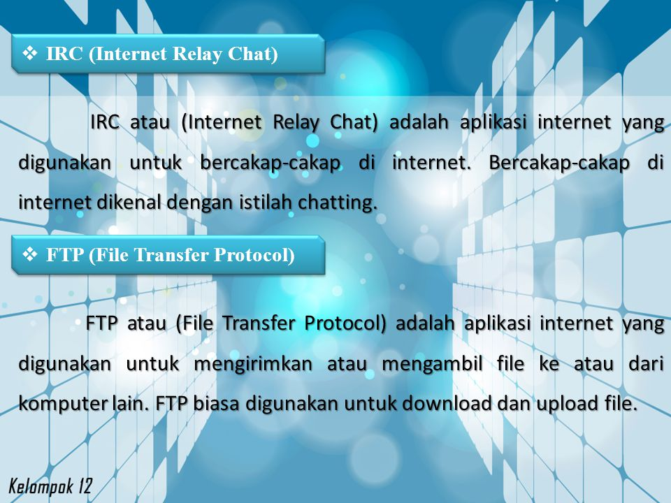 IRC (Internet Relay Chat)