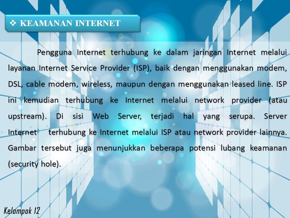 KEAMANAN INTERNET