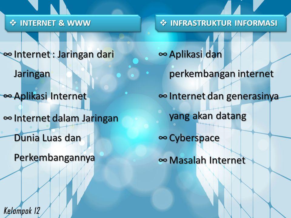 Internet : Jaringan dari Jaringan